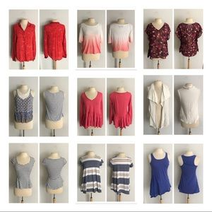 CLOSET CLOSING Anthropologie mixed lot